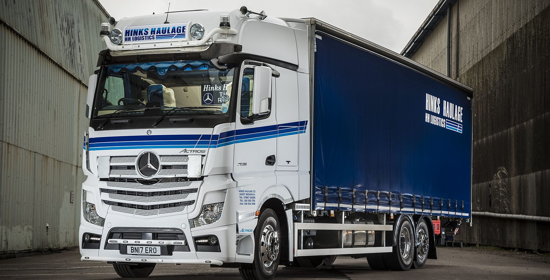 Actros 2535 - Hinks Haulage (12)