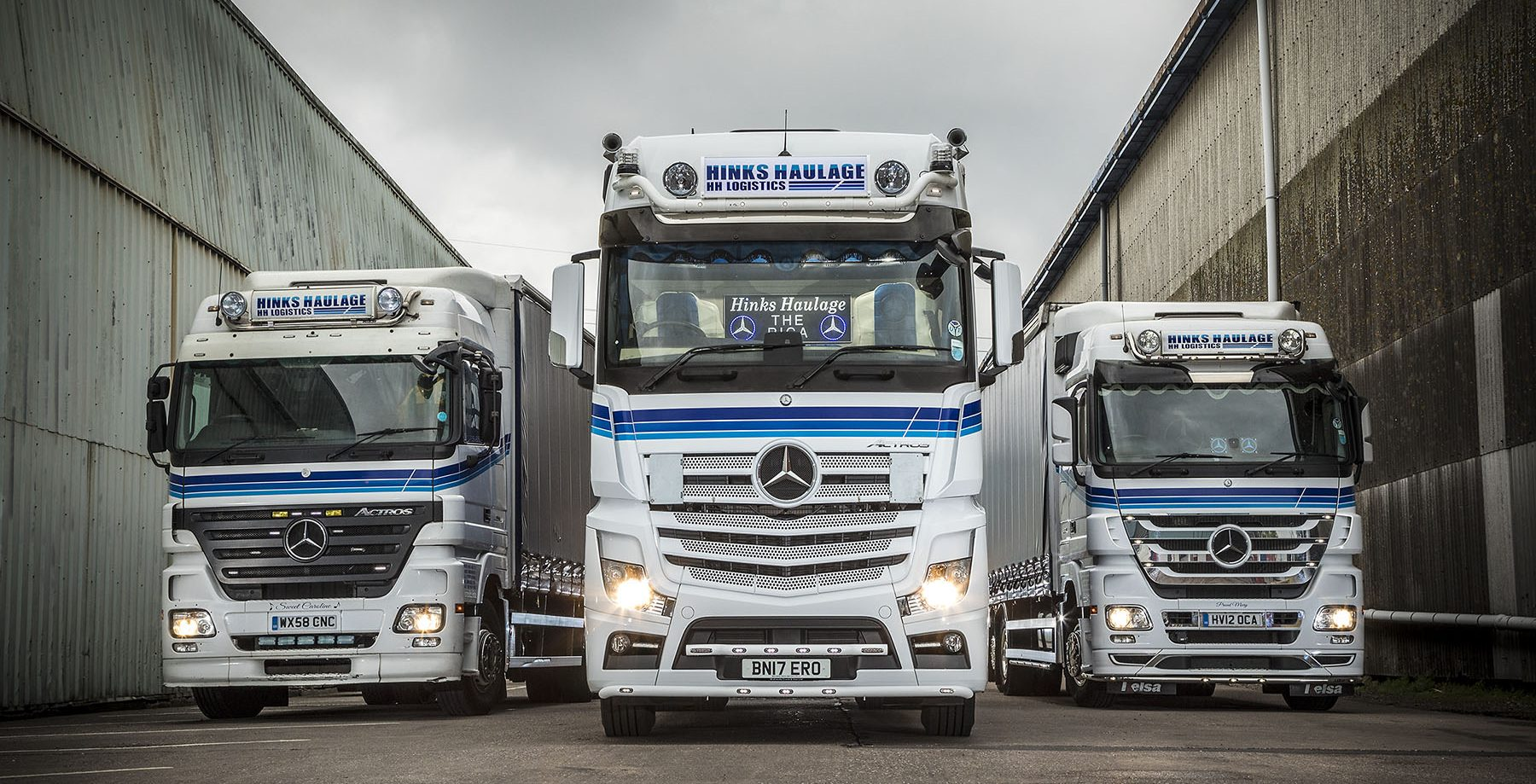 Actros generations (1)